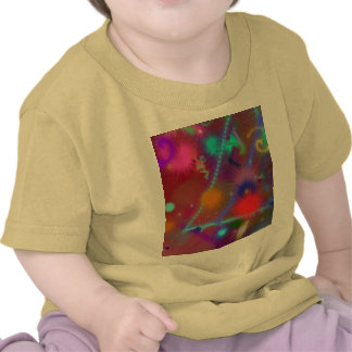 Fun Color Astro Chart Colorful Abstract Art Tshirt