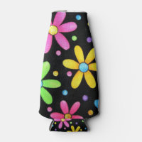 fun colored floral cooler