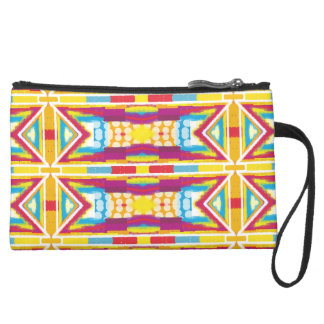 Fun Colorful Abstract Accessory Bag