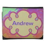 Fun Colorful Abstract Art Wallets