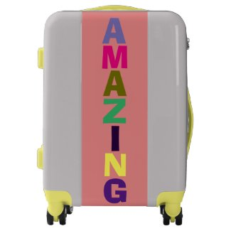 Colorful AMAZING Suitcase