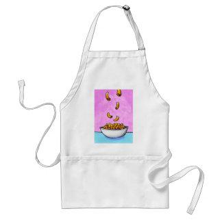 Fun colorful art mac and cheese comfort food aprons
