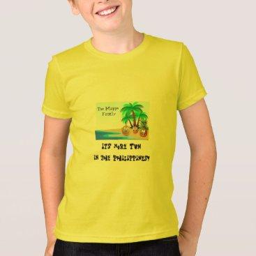 Beach Themed Fun colorful beach - Philippines T-Shirt