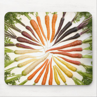 Fun Colorful Carrots Mouse Pad