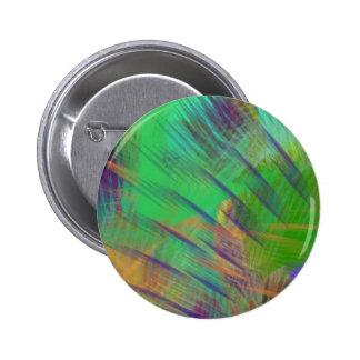 Fun Colorful Dazzle Me Color Burst 2 Inch Round Button