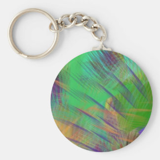 Fun Colorful Dazzle Me Color Burst Keychain