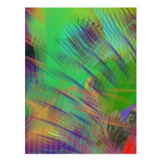 Fun Colorful Dazzle Me Color Burst Postcard
