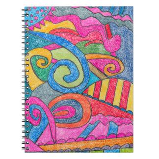 Fun Colorful Design Notebook