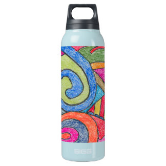 Fun Colorful Design Thermos Bottle
