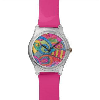 Fun Colorful Design Watch