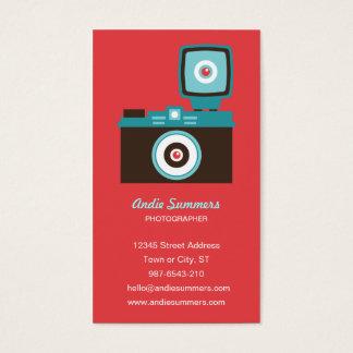 Fun Colorful Diana Lomo Camera Photographer Business Card