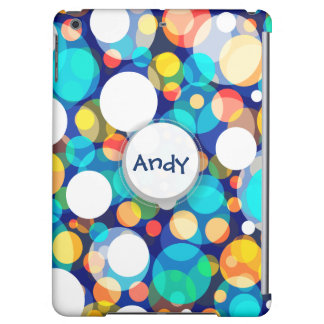 Fun Colorful Dots Pattern (Kids, Celebrations) iPad Air Covers