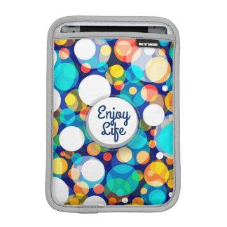 Fun Colorful Dots Pattern (Kids, Celebrations) iPad Mini Sleeve