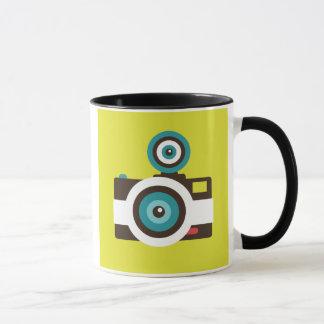 Fun Colorful FishEye Camera Photographer Mug
