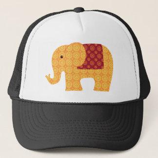 Fun Colorful Flower Elephant Trucker Hat
