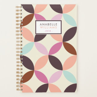 Fun Colorful Geometric Pattern Planner