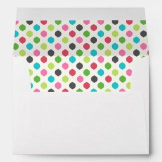 Fun Colorful Holidays Dots Envelopes