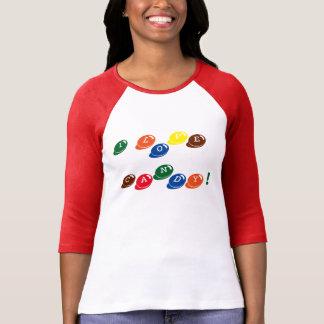 Fun Colorful I Love Candy Bits Tee! T-Shirt