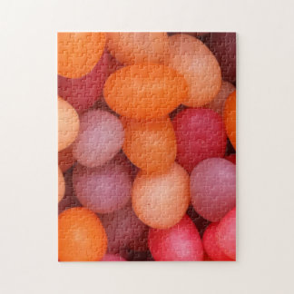 Fun Colorful Jelly Beans Candy, Jigsaw Puzzle