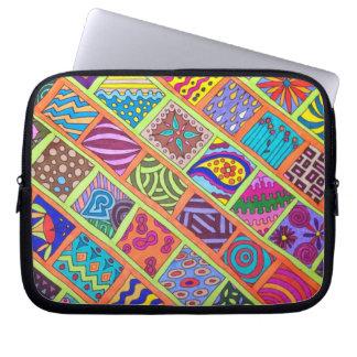 Fun Colorful Laptop Sleeve