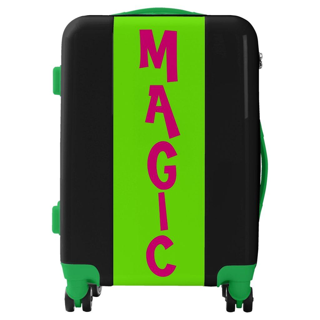 MAGIC green Suitcase