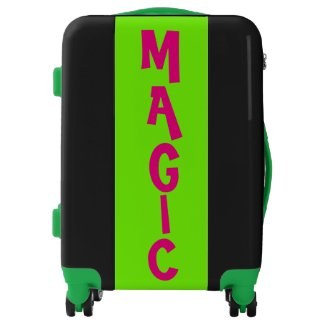 MAGIC green Suitcase