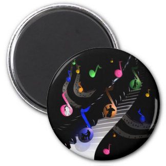 Fun Colorful Musical Magnet for music lovers