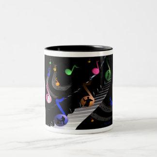 Fun Colorful Musical Mug