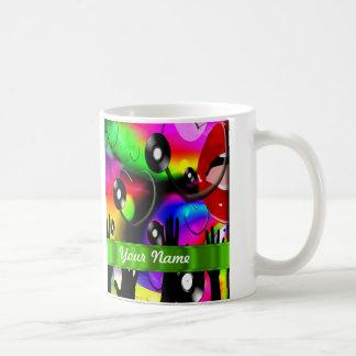 Fun colorful  party design coffee mug