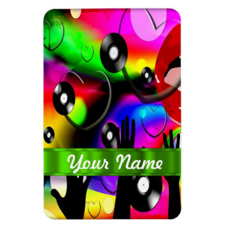 Fun colorful  party design magnet