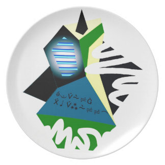 Fun, Colorful Party Plates