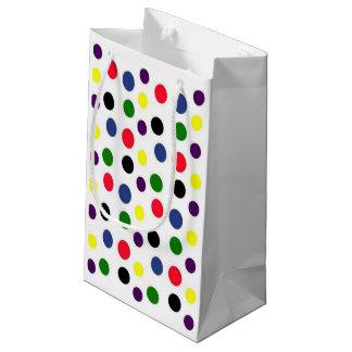 Fun Colorful Polka Dot Small Gift Bag