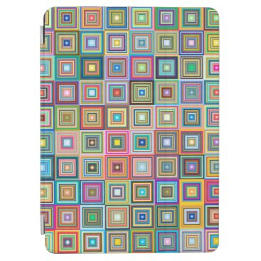Fun Colorful Retro Tiles Pattern   iPad Air Case