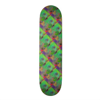 Fun Colorful Sassy Dazzle Me Color Abstract Skateboards