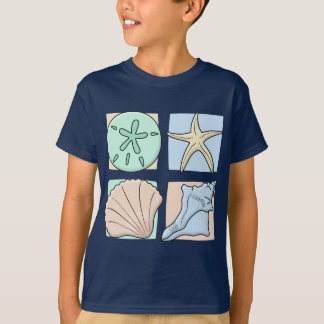 Fun Colorful Shells T-Shirt
