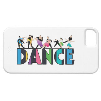 Fun & Colorful Striped Dancers Dance iPhone SE/5/5s Case
