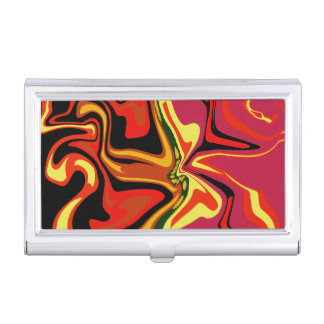 Fun colors case for business cards