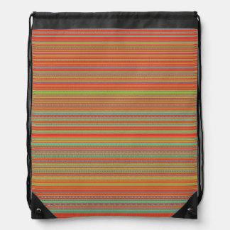 Fun colors drawstring backpacks