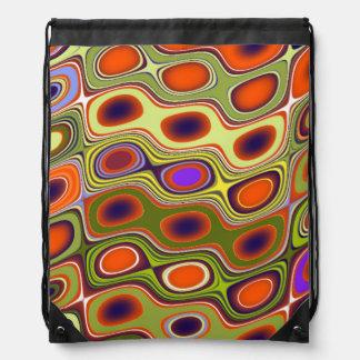 Fun colors cinch bags