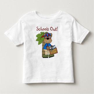 Fun Comic Bear Schools Out Toddler T-Shirt