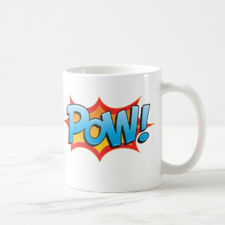 Fun Comic Pow! Coffee Mug