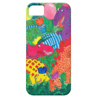 Fun Comical Brightly Coloured Monsters iPhone SE/5/5s Case