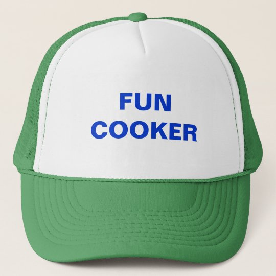 FUN COOKER TRUCKER HAT