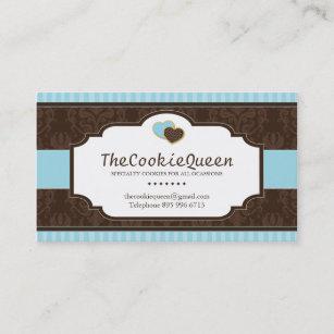 Fun business cards zazzle fun cookie bakery business card colourmoves