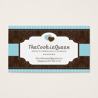 Fun Cookie Bakery Business Card