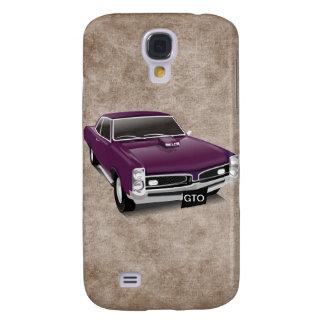 Fun Cool Purple GTO Car 3G/3GS Samsung Galaxy S4 Case