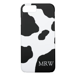 Fun Cow Print Cute Animal Personalized iPhone 7 Case