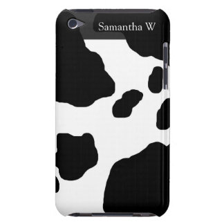 Fun Cow Print Personalized iPod Touch Case