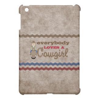 Fun Cowgirl  iPad Mini Cases