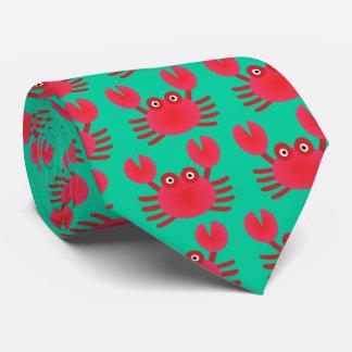 Fun Crab Neck Tie